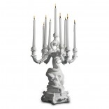 The Life Logic Giant Burlesque Chandelier (White) - Seletti