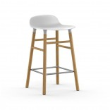 Form Barstool 65 cm Oak (White) - Normann Copenhagen