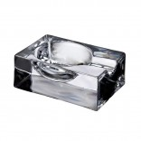 Fumo Cigar Ashtray - Nude Glass