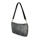 Jamie Handmade Recycled Evening Bag (Black) - Escama Studio