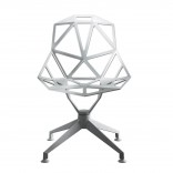 Chair One 4-Star Swivel Chair (White) - Magis