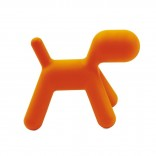Me Too Puppy Children's Stool L (Orange) - Magis