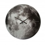 Planet Moon Wall Clock (Mirrored Glass) - Karlsson