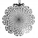 Chrysanthemum Pendant (Black) - Nervous System