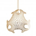 Haeckel Pendant (Brass) - Nervous System