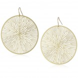 Peltate Earrings (Gold) - Nervous System