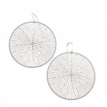 Peltate Earrings (Steel) - Nervous System