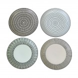 Pastel Afresh Plates (Set of 4) - pols potten