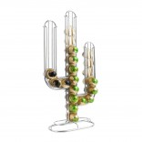 Cactus Coffee Capsule Holder (Chrome) - Present Time