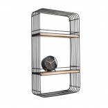 Linea Rectangle Wall Rack - Present Time