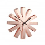 Ribbon Wall Clock (Copper) - Umbra