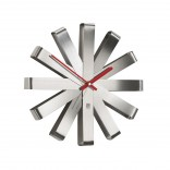 Ribbon Wall Clock (Steel) - Umbra