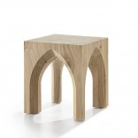 Notre Dame Stool & Side Table (Scented Cedar Wood) - Riva 1920