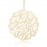 Sasagrass Pendant L (Gold) - Moorigin