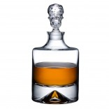 Shade Whisky Bottle - Nude Glass