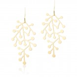 Snow Days Earrings S (Gold) - Moorigin