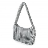 Socorro Handmade Recycled Bag (Silver) - Escama Studio