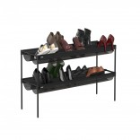 Shoe Sling Stacking Shoe Rack Organizer - Umbra