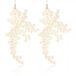 Waterweeds Earrings M (Gold) - Moorigin