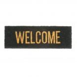 Welcome Door Mat (Gold / Black) - Present Time