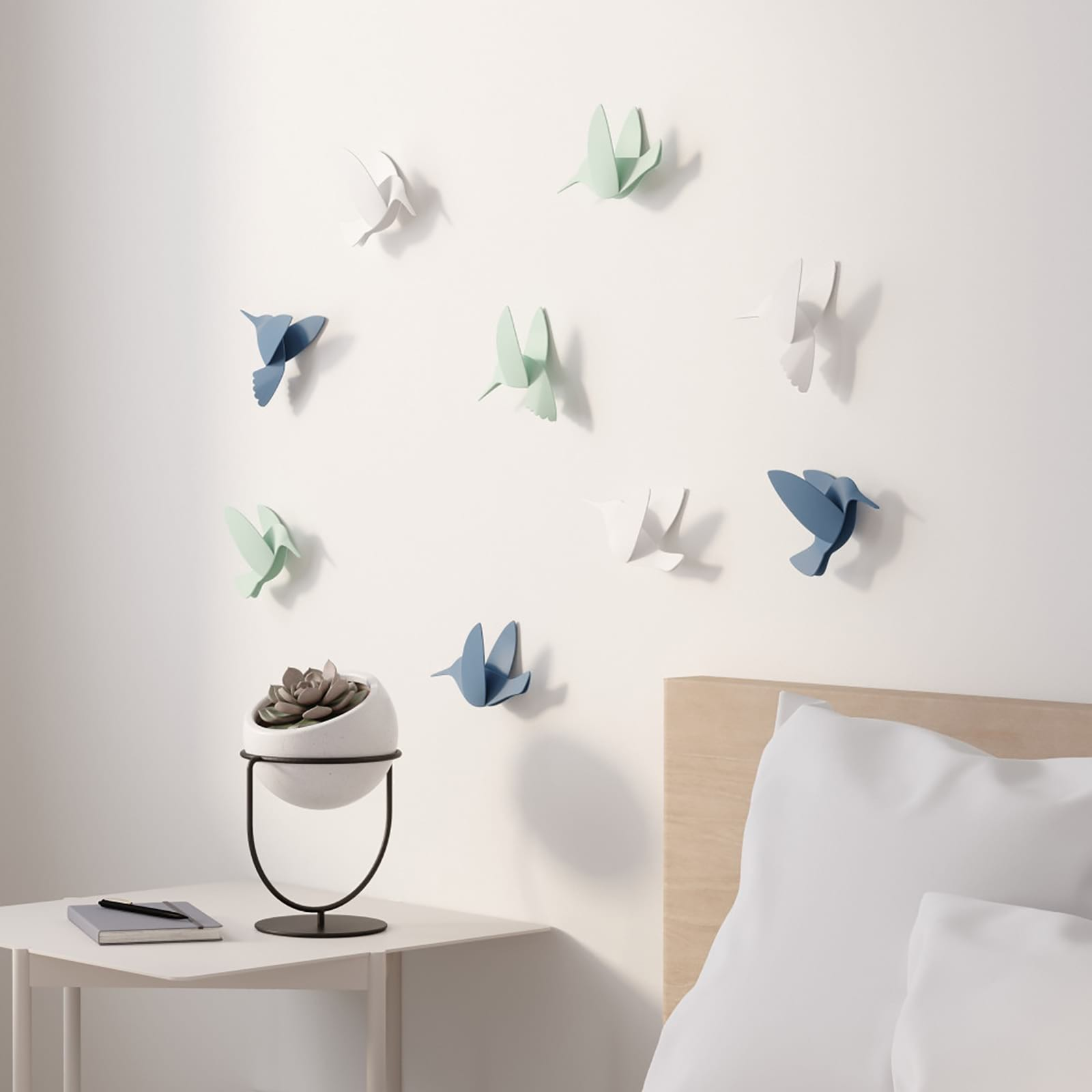 Hummingbird Wall Decor (Assorted) - Umbra