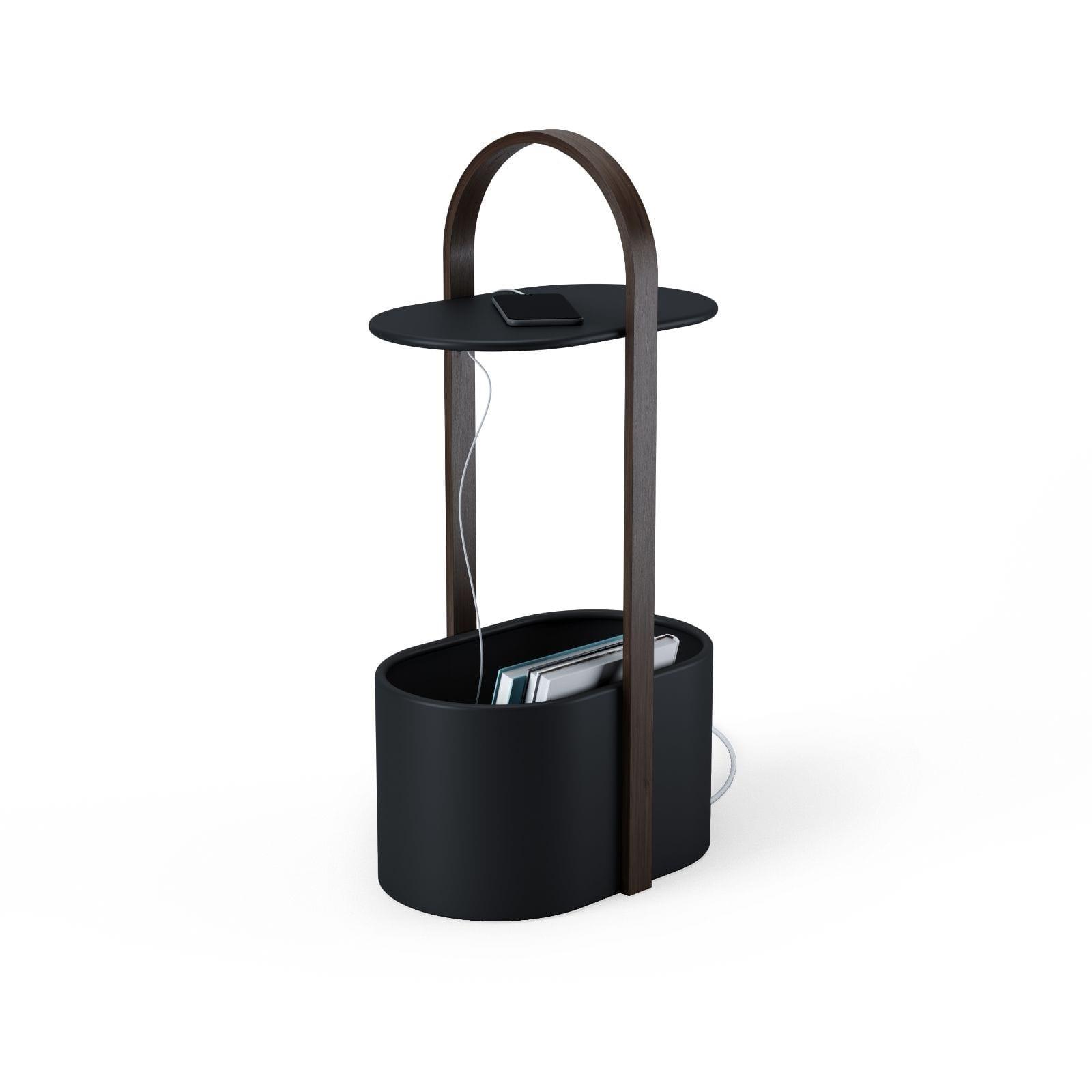 Bellwood Storage Table (Black / Walnut) - Umbra