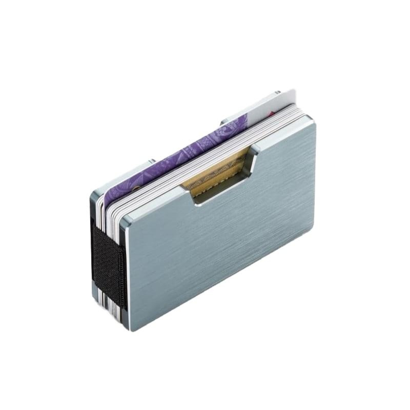 COOPER Cardholder with Money Clip (Silver) - Philippi