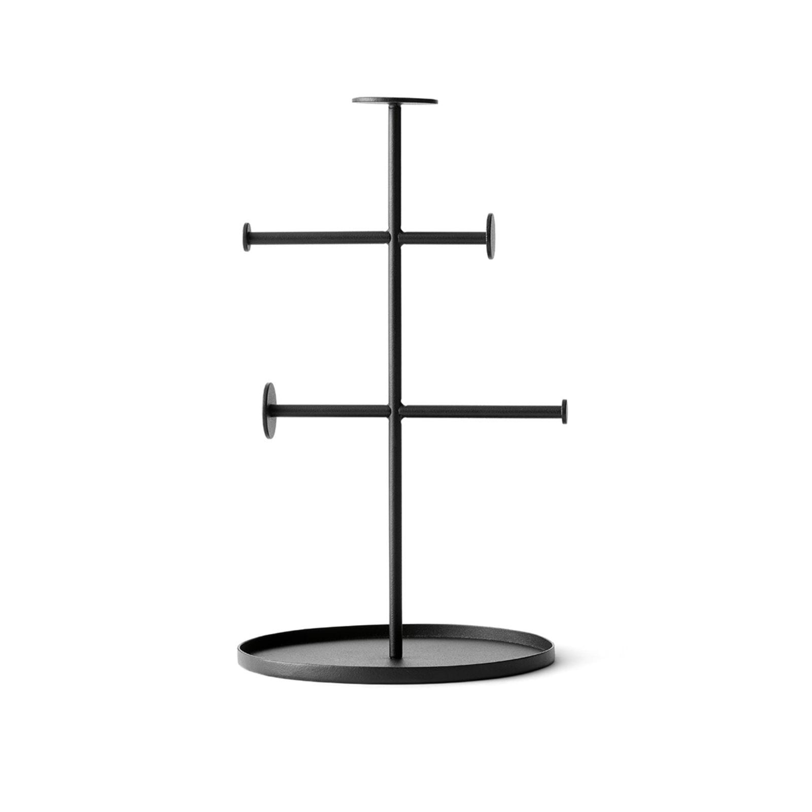 Norm Collector Jewelry Stand (Black) - Menu