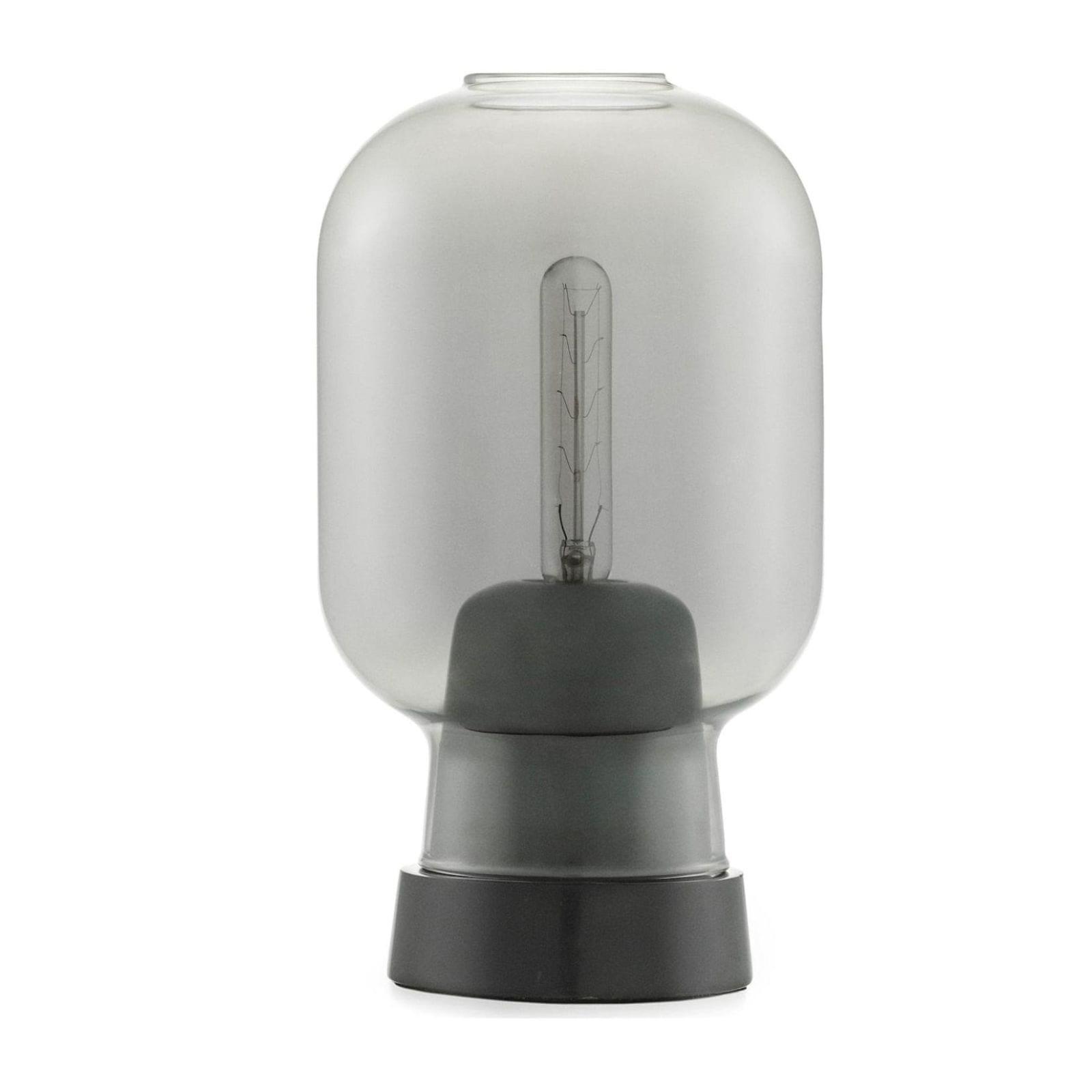 Amp Table Lamp (Smoke / Black) - Normann Copenhagen
