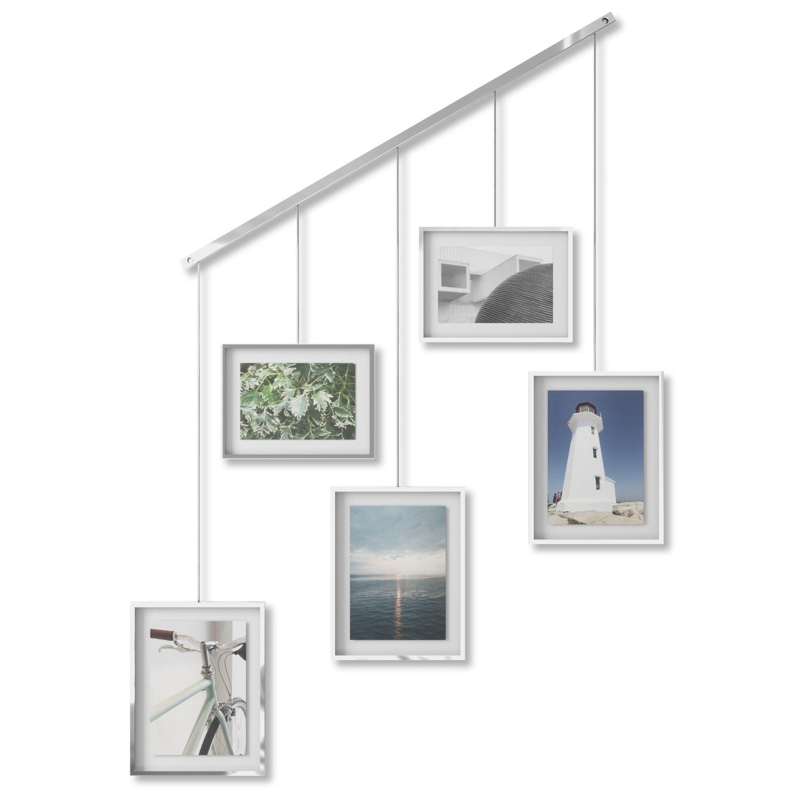 Εxhibit Multi Wall Photo Display (Chrome) - Umbra