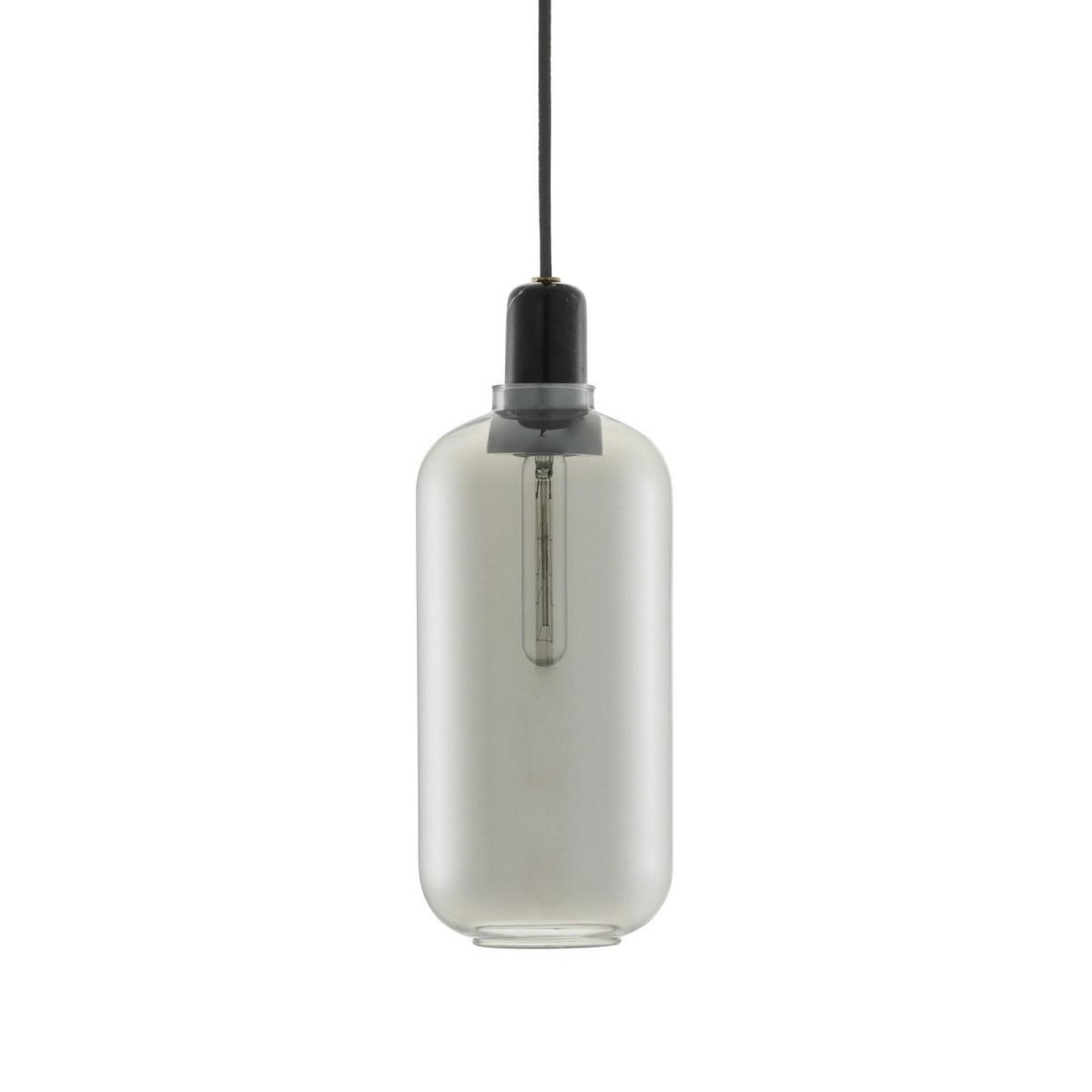 Amp Lamp Large (Smoke / Black) - Normann Copenhagen