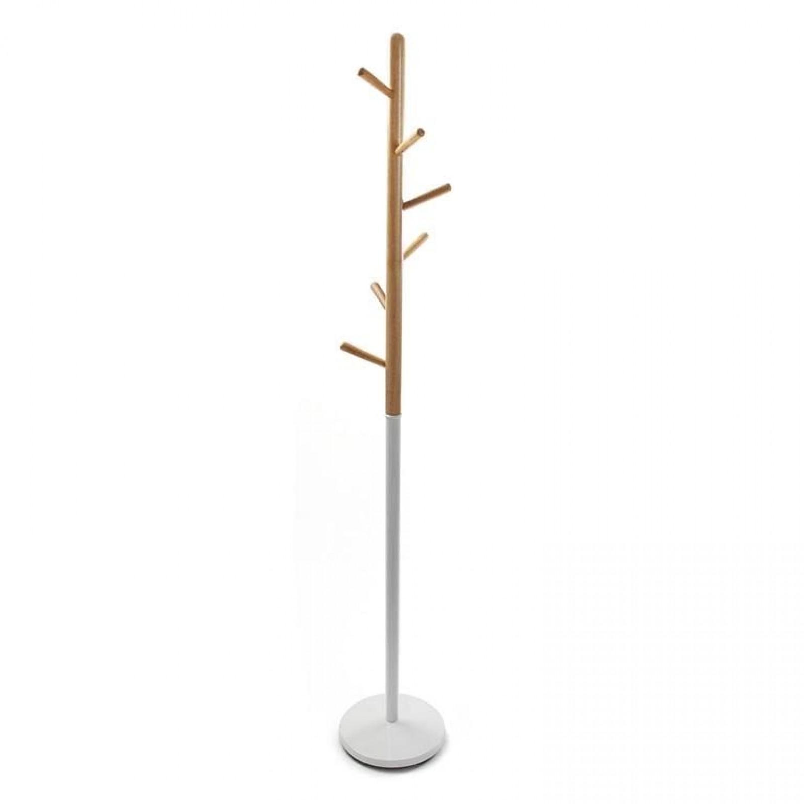 Blanco Coat Rack (Metal / Wood) - Versa