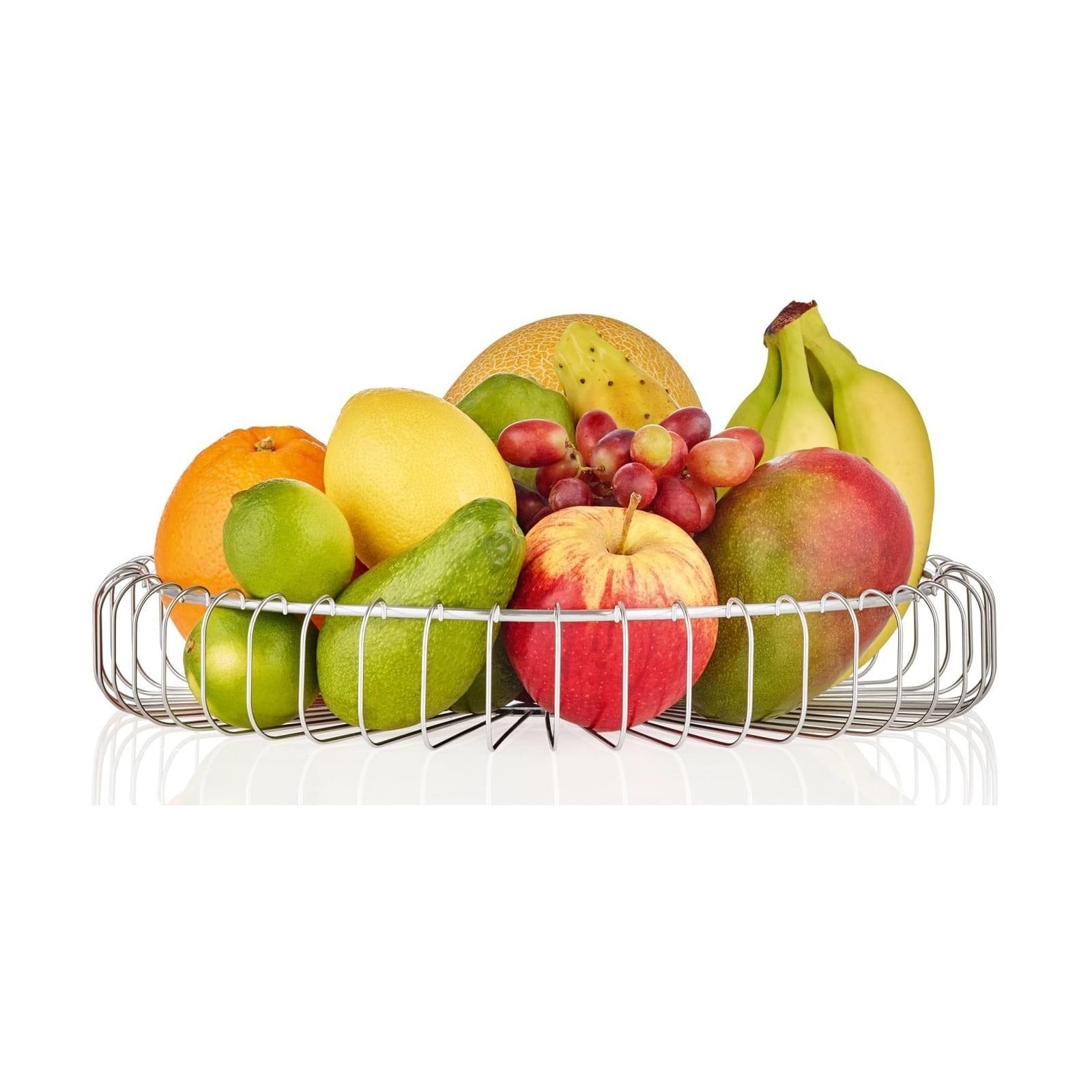 Estra Wire Basket / Fruit Bowl S (Small) - Blomus