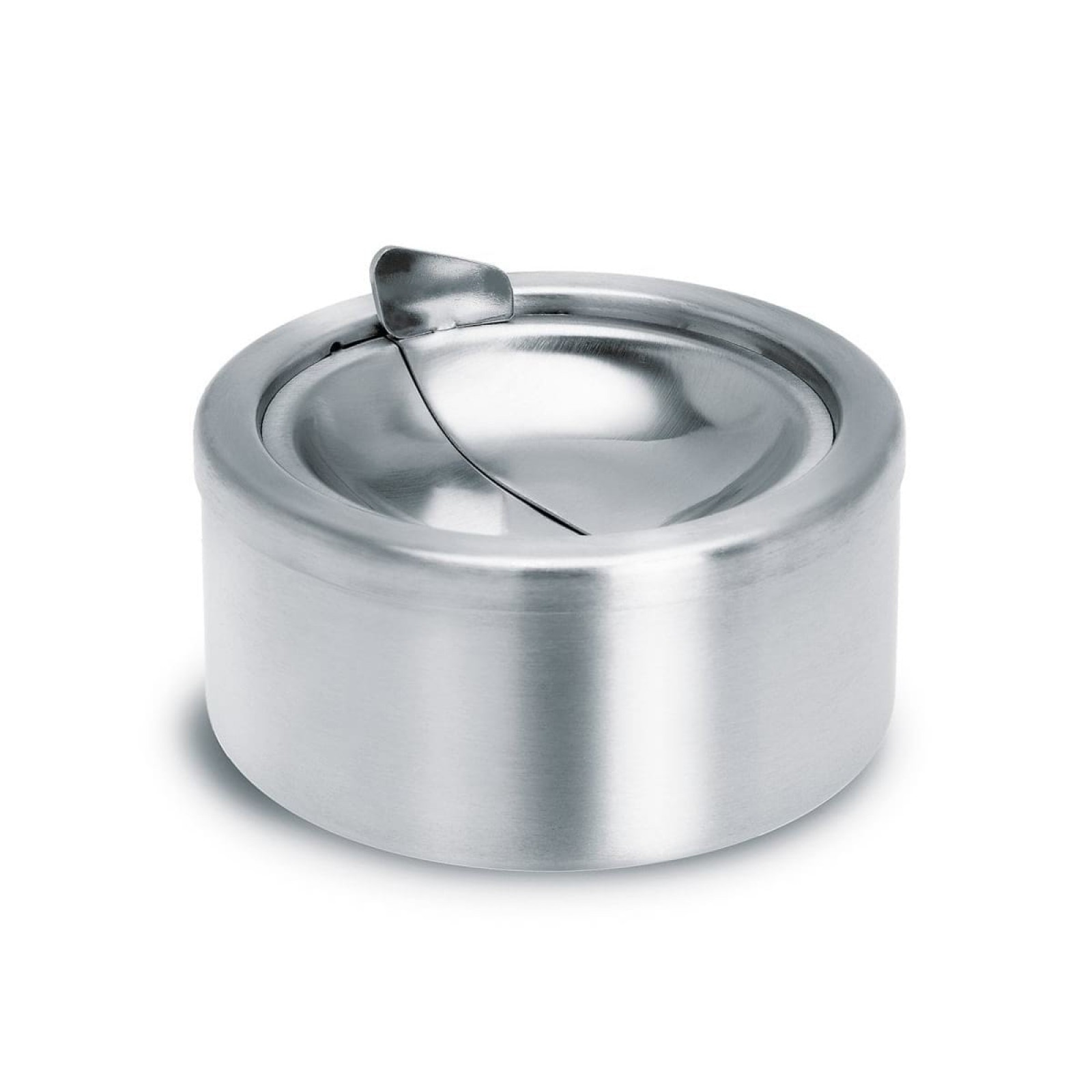 PATTY Ashtray with Lid (Stainless Steel Matt) - Blomus