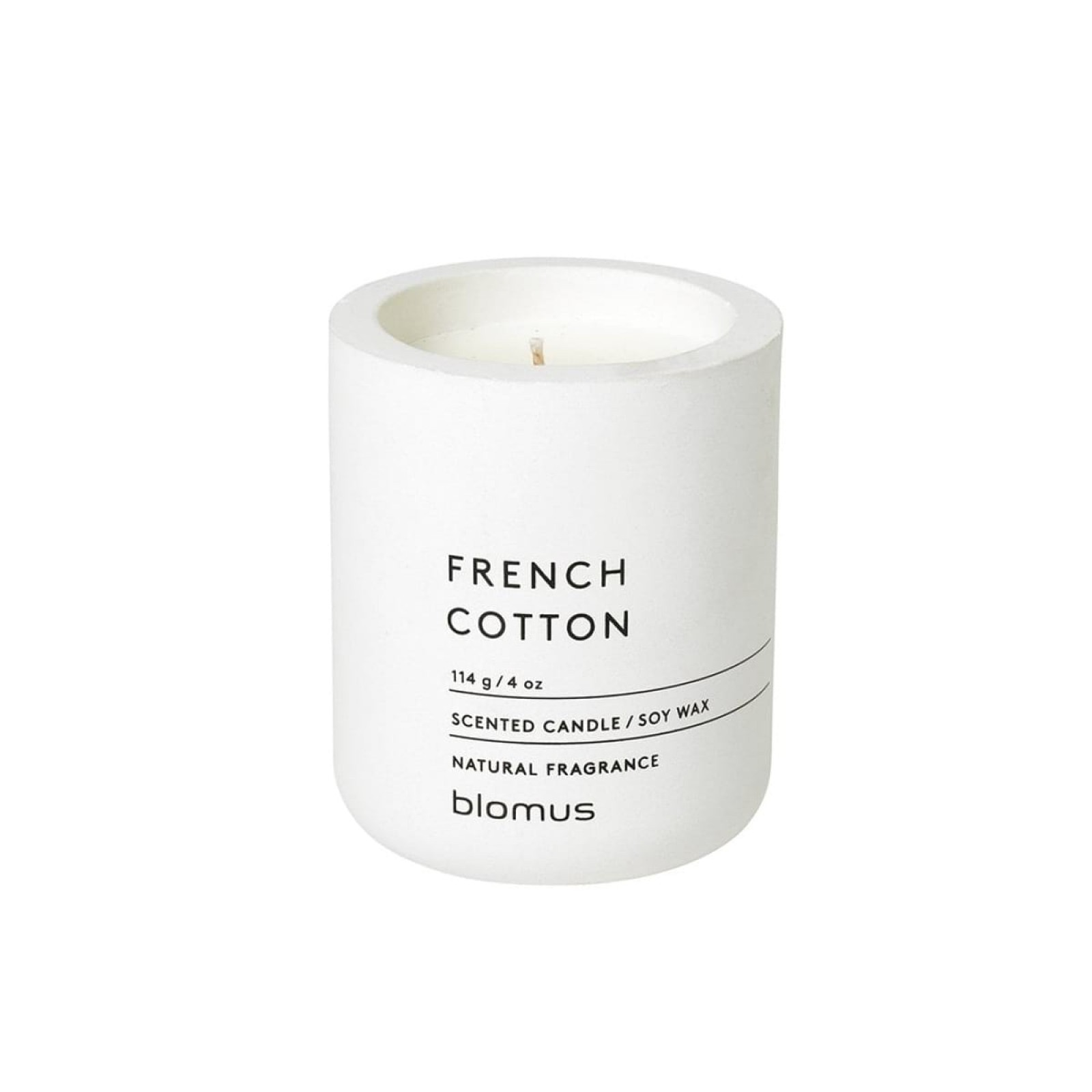 Scented Candle FRAGA S French Cotton - Blomus