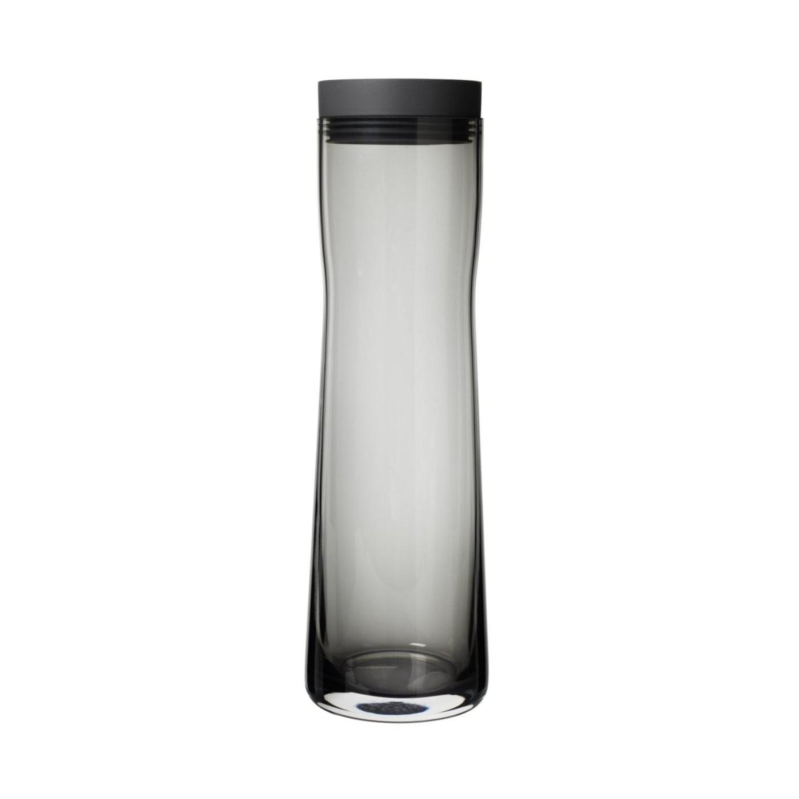 SPLASH Water Carafe 1 Liter Black - Blomus