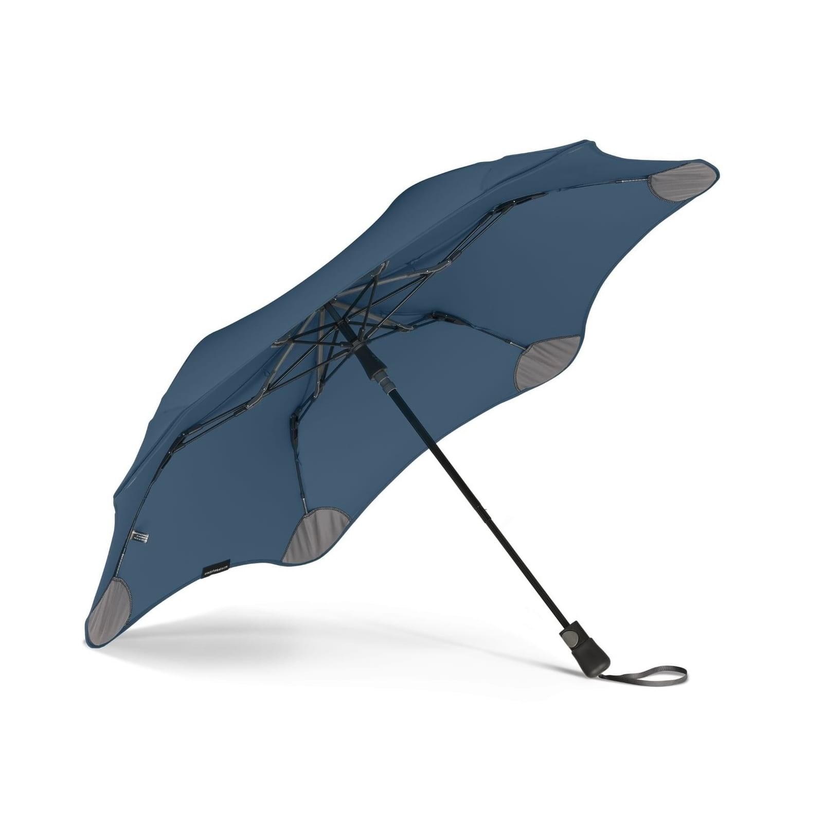 Metro Automatic Storm Umbrella (Navy) - Blunt