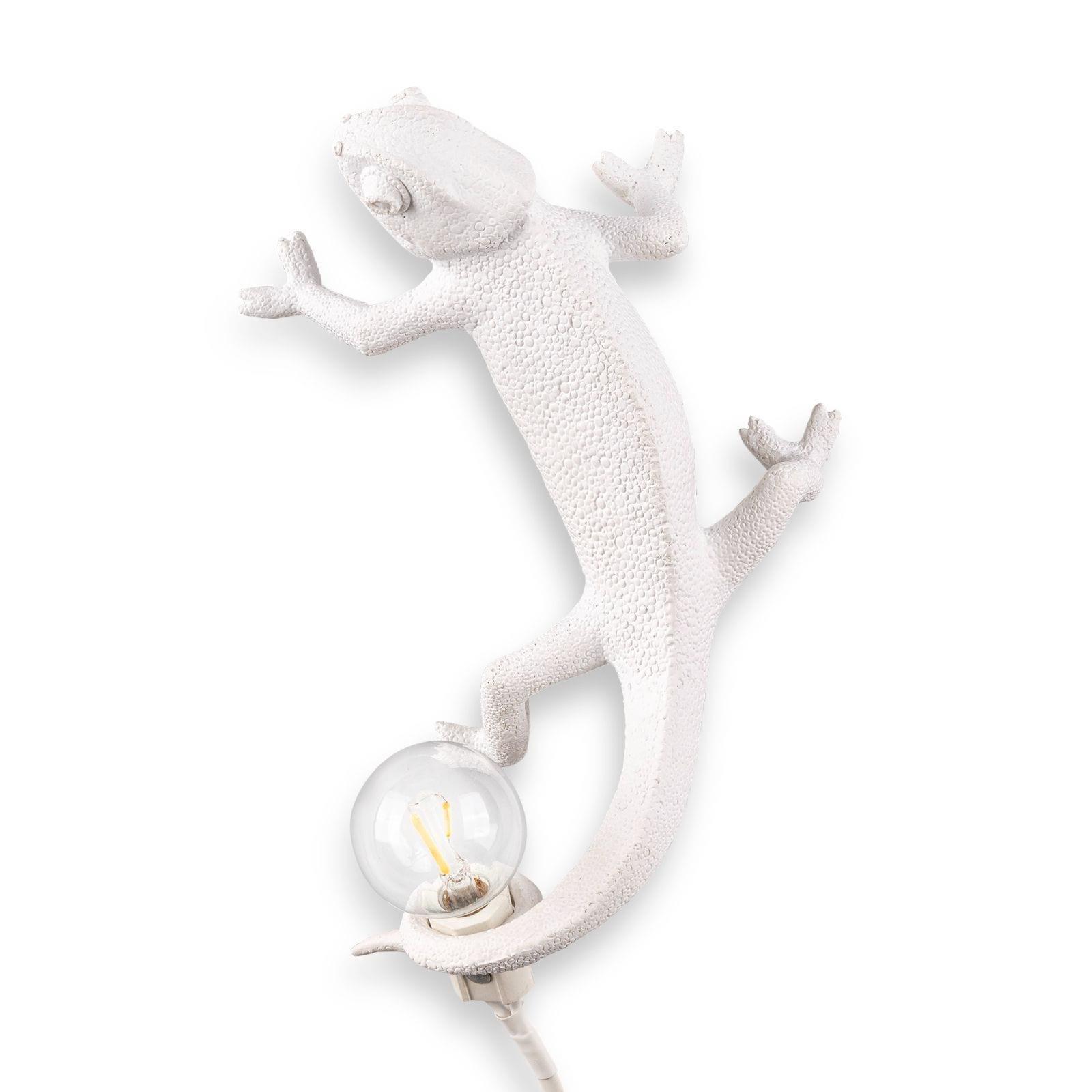 Chameleon Lamp Going Up (White) - Seletti