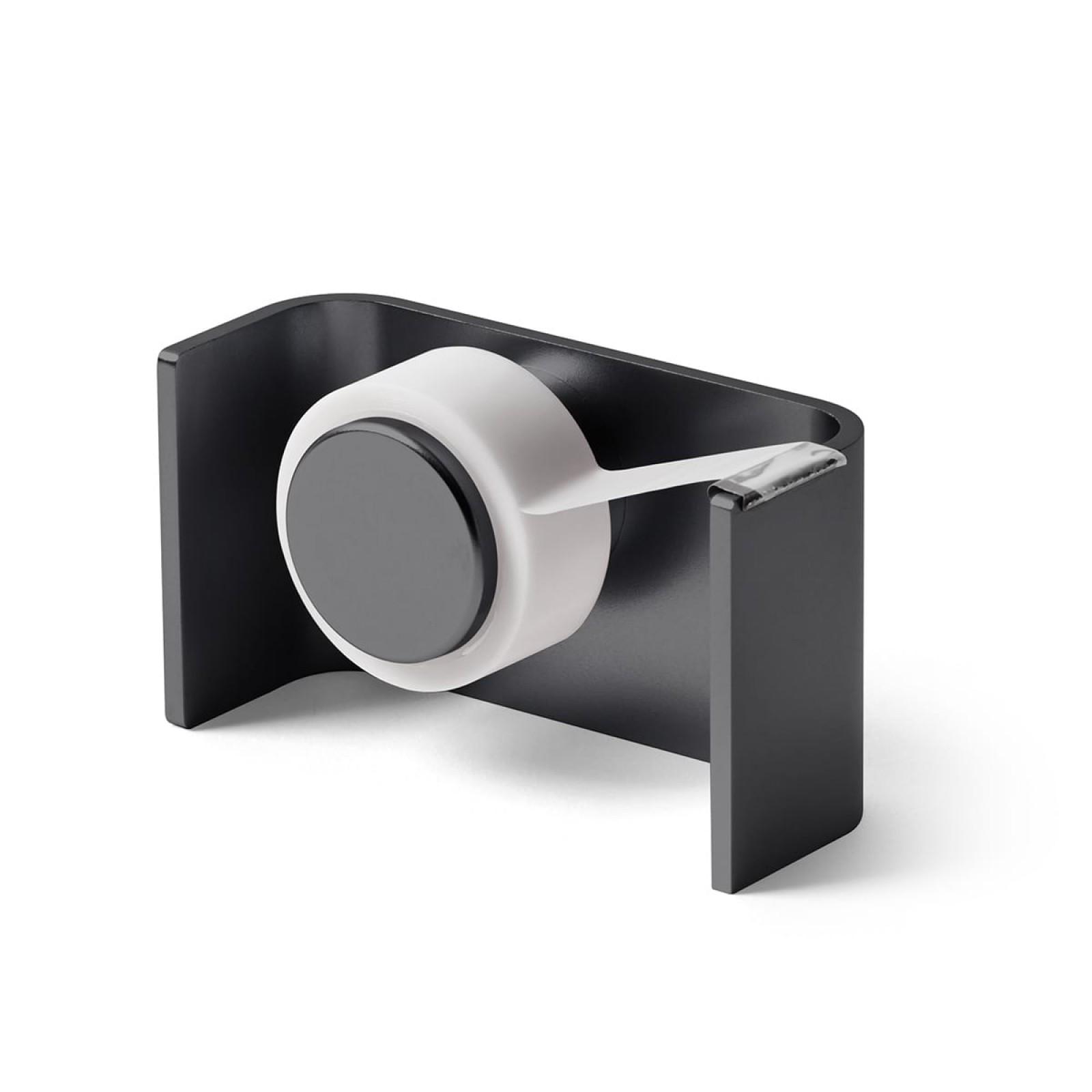 City Tape Dispenser (Metallic Grey) - LEXON