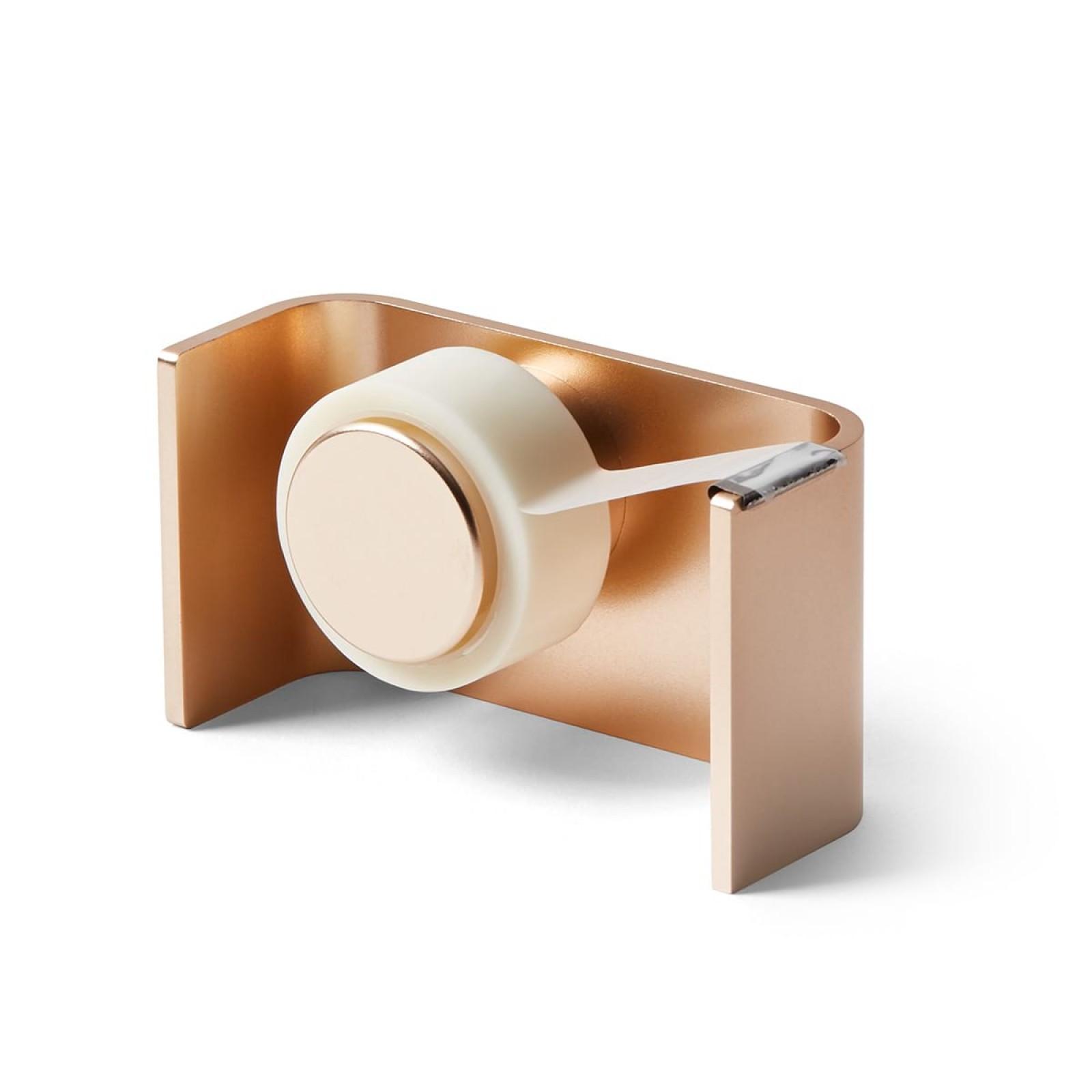 City Tape Dispenser (Soft Gold) - LEXON