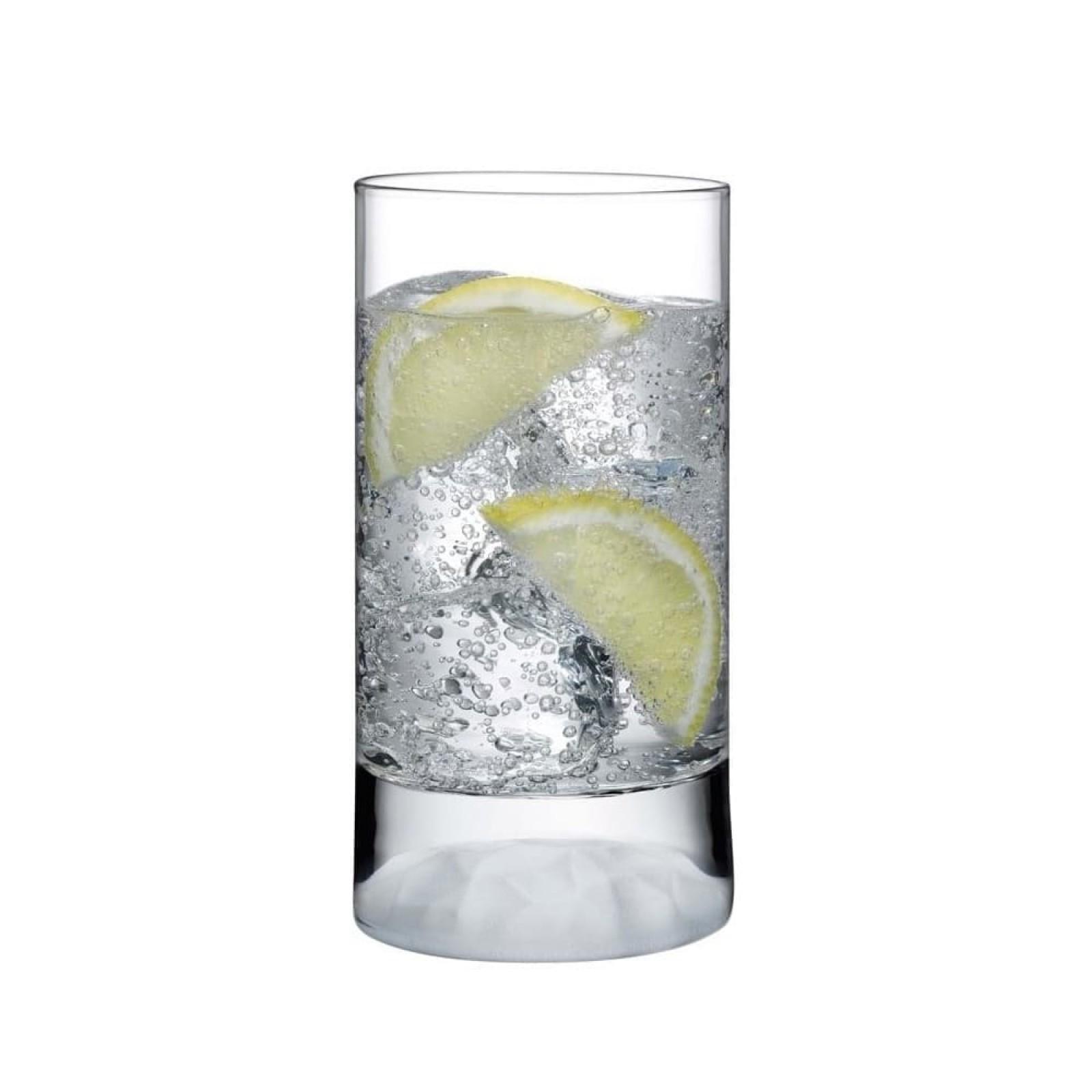 Club Ice High Ball Glasses 280 ml. (Set of 4) - Nude Glass