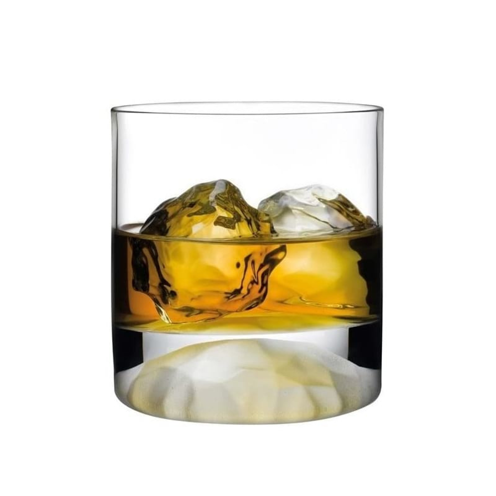 Club Ice Whisky Glasses (Set of 4) - Nude Glass