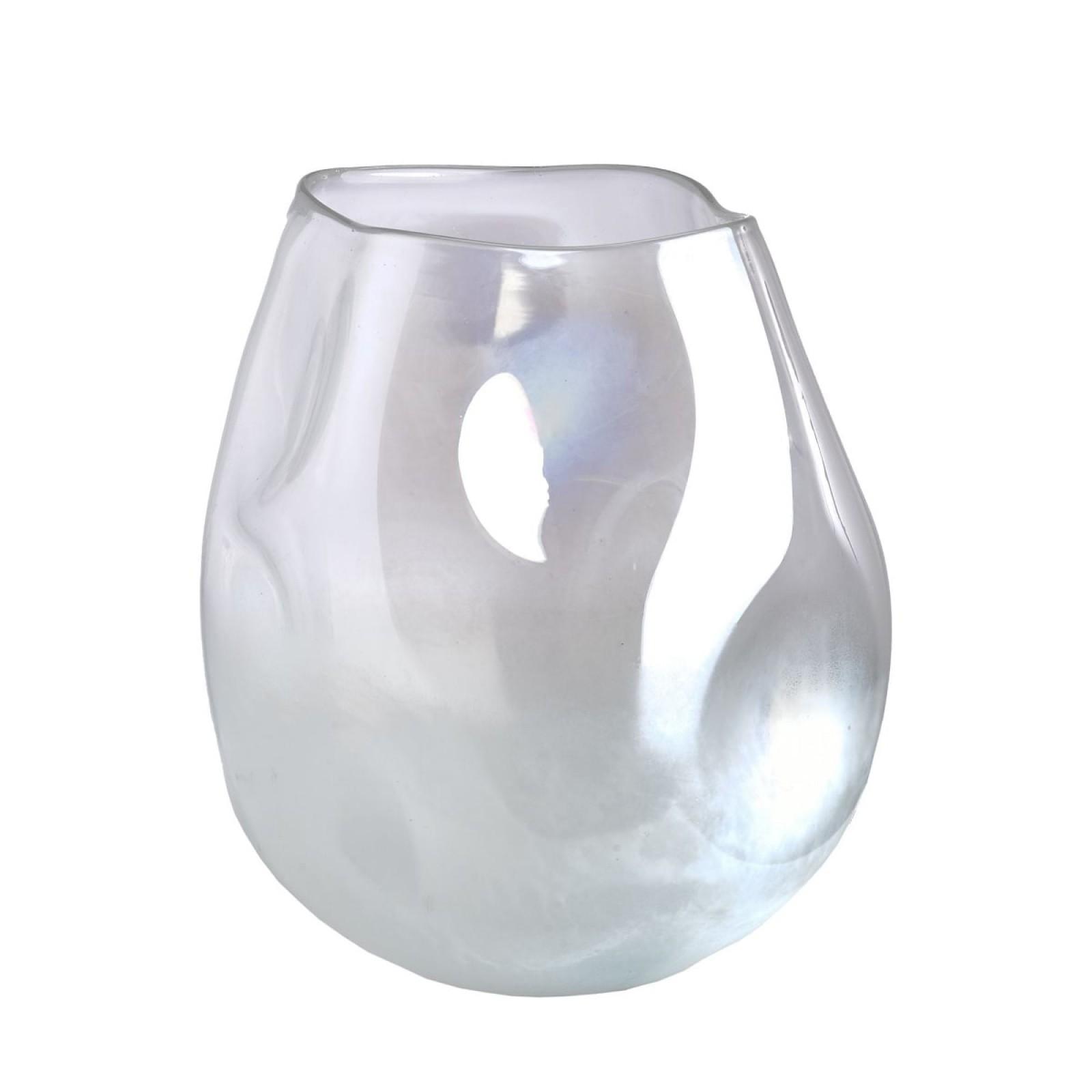 Collision Vase White - Pols Potten