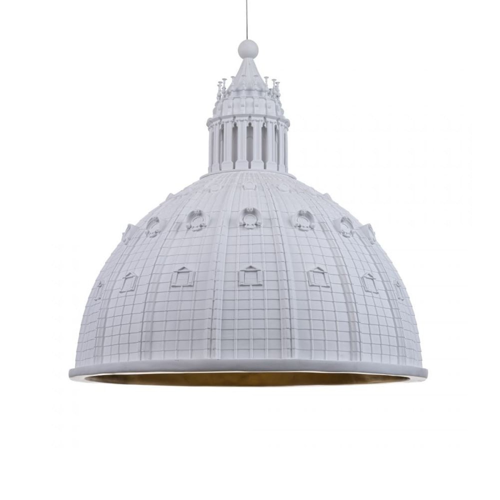 Cupolone Pendant Lamp (White) - Seletti