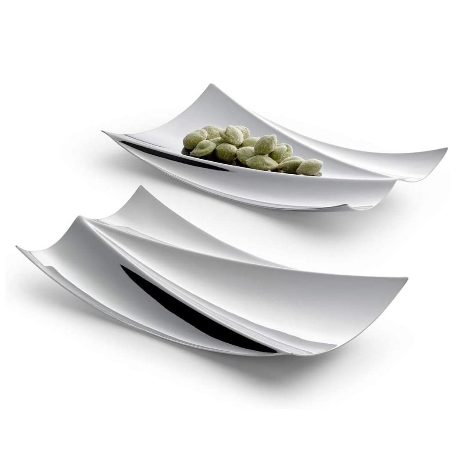 ELBHARMONIE Snack Bowl Set of 2 (Stainless Steel) - Philippi