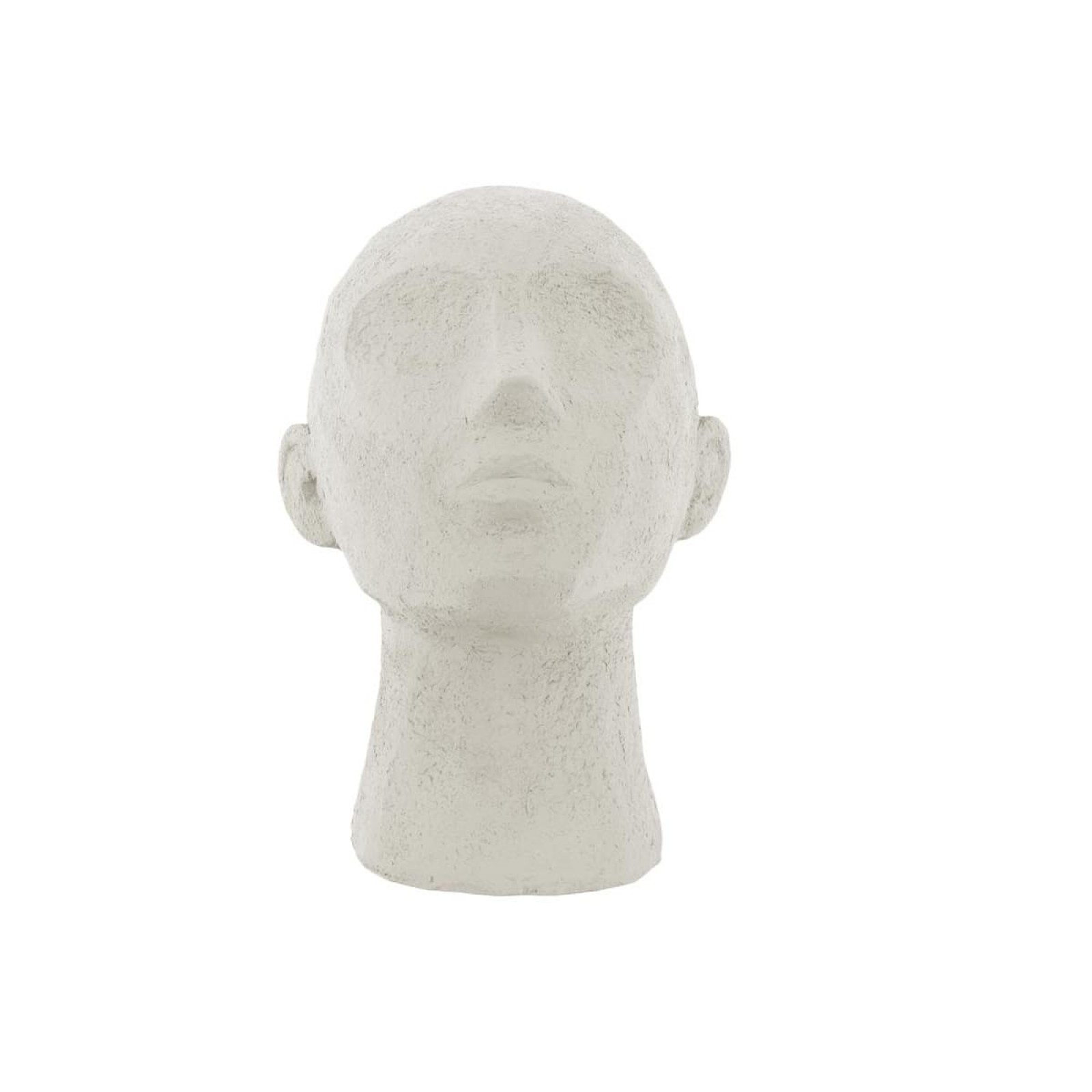 Face Art Up Statue (Ivory) - Present Time
