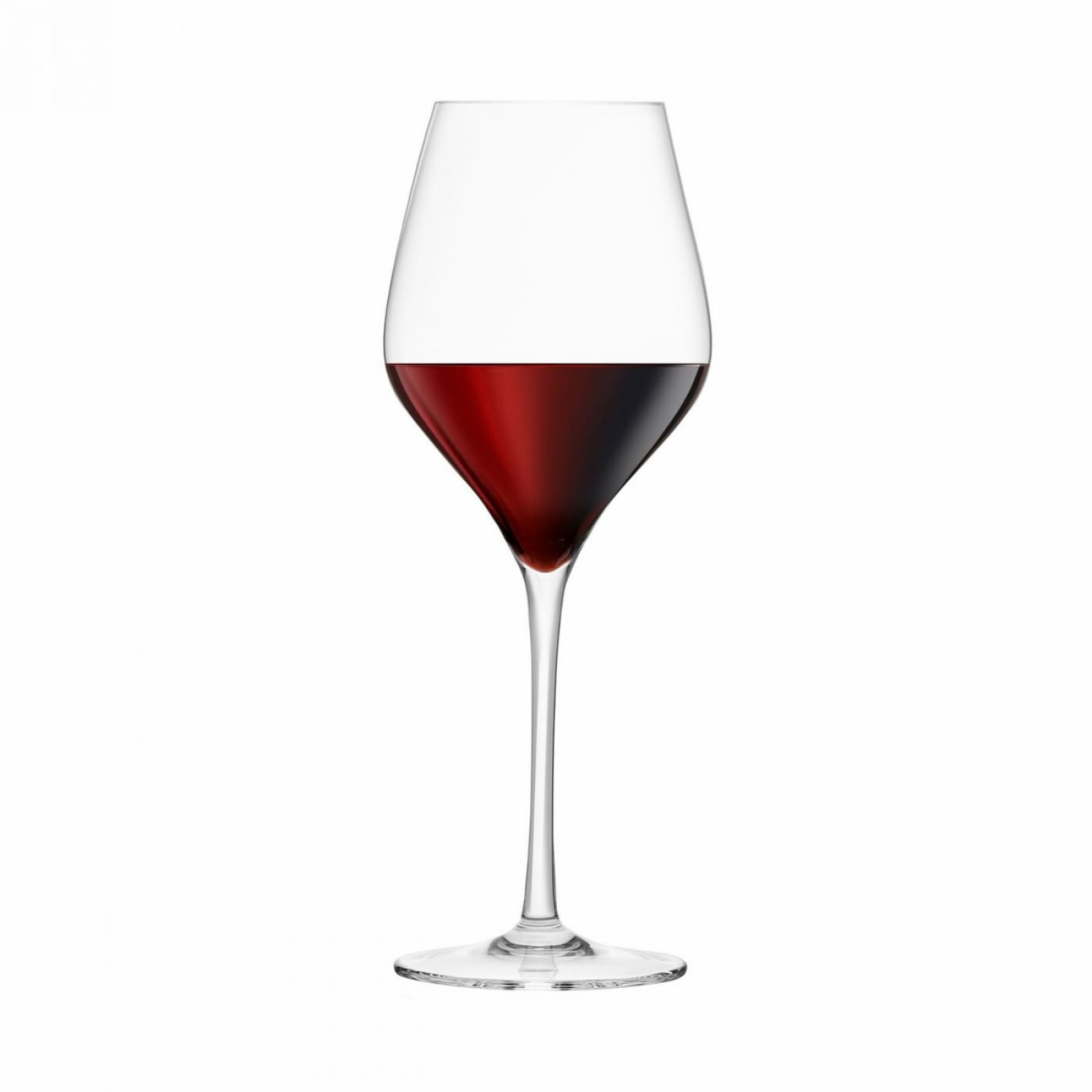 Red Wine Lead-Free Crystal Glasses (Set of 4) - Final Touch