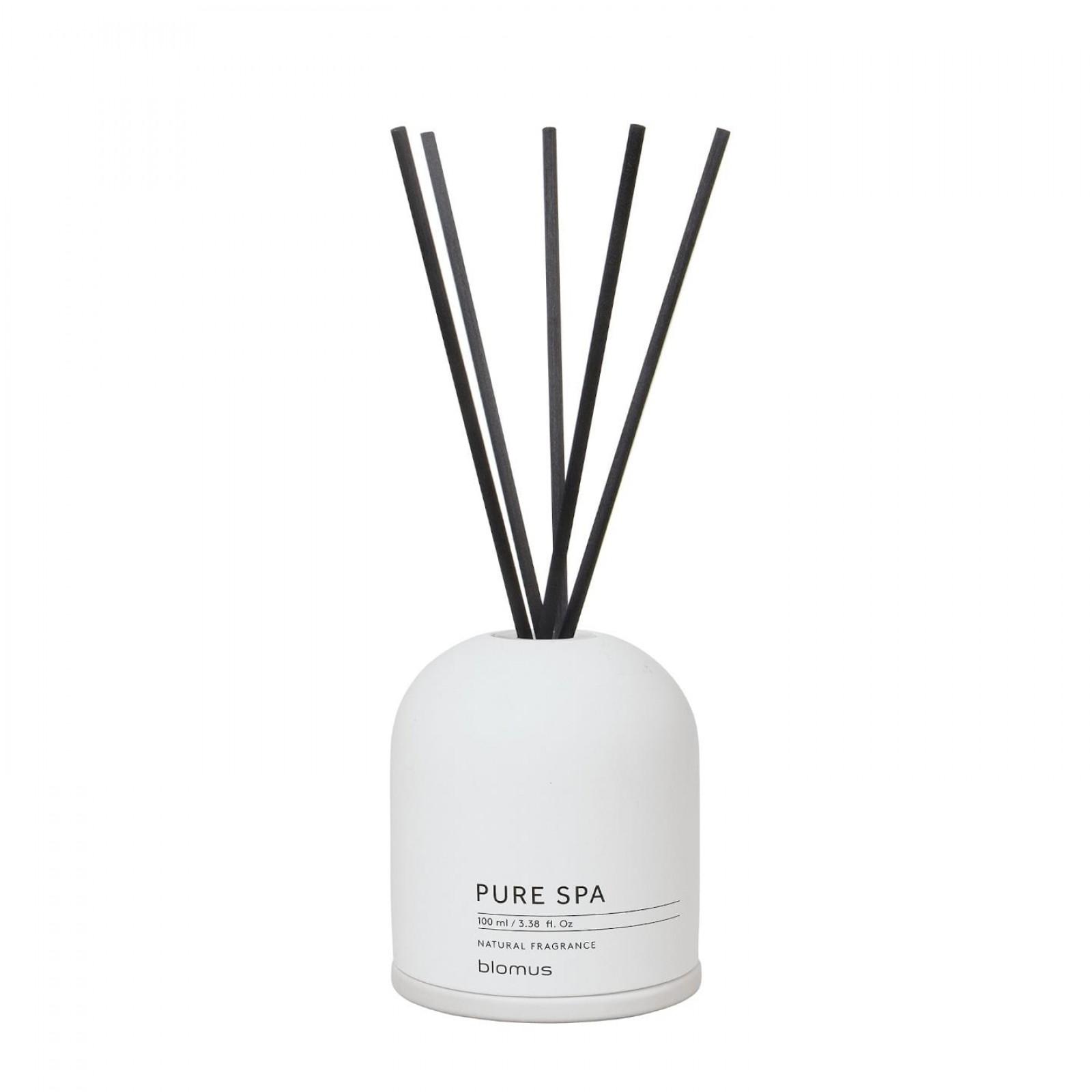 Fraga Room Fragrance Set French Cotton (Lily White) - Blomus