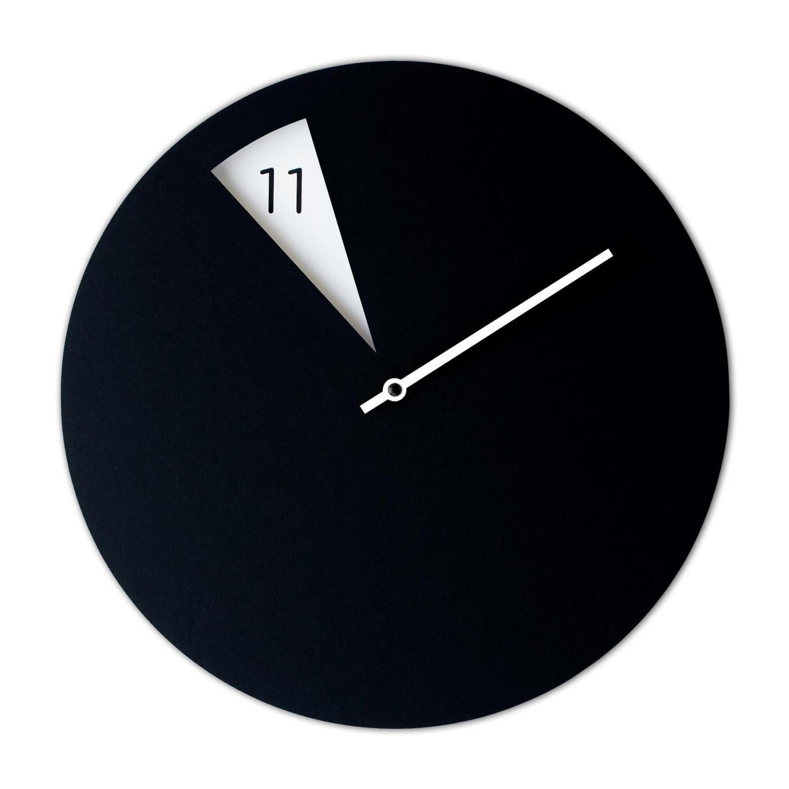 Freakish Wall Clock (Black / White) – Sabrina Fossi Design