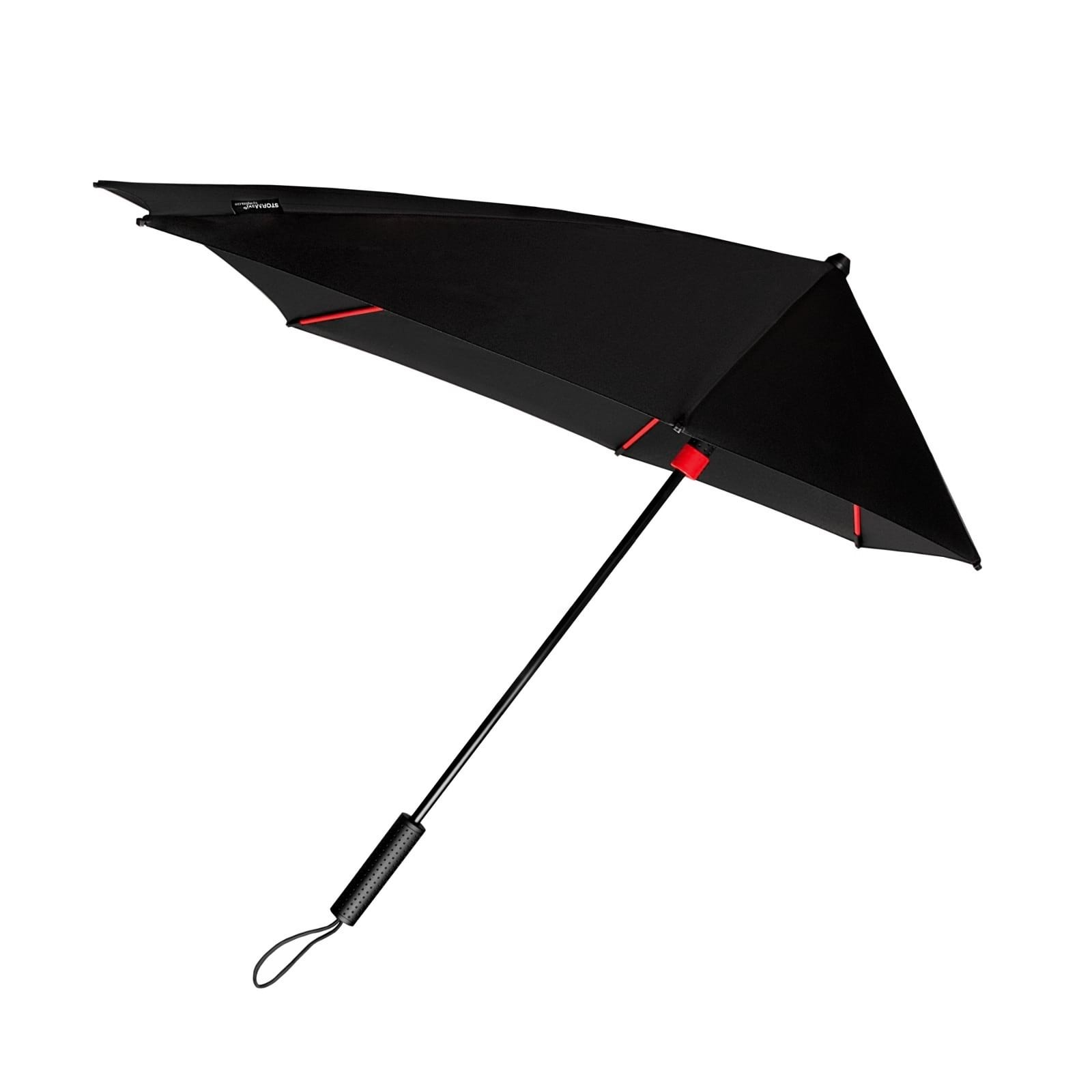 STORMaxi® Storm Umbrella Special Edition Black + Red Frame - Impliva